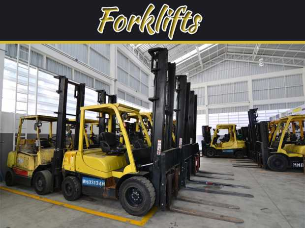 3 Common Types Of Forklifts For Hire And How To Use Them
