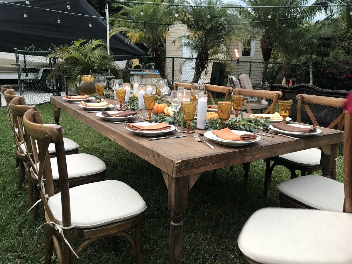Backyard Thanksgiving Feast