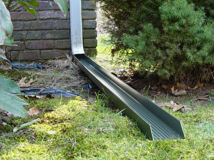 Extend Your Downspouts and Gutters