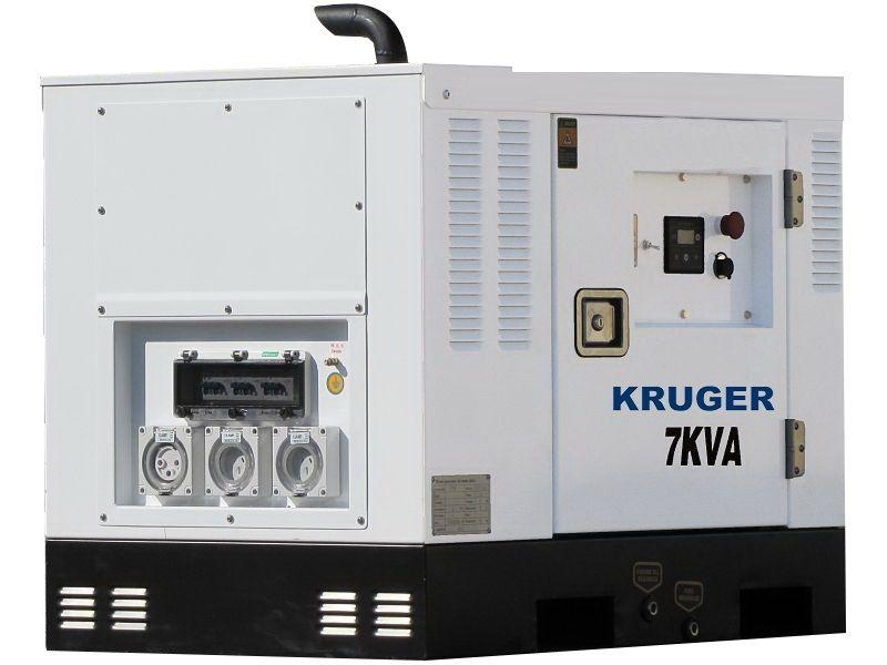 Kruger 7kVA 240V Super Silent Portable Generator