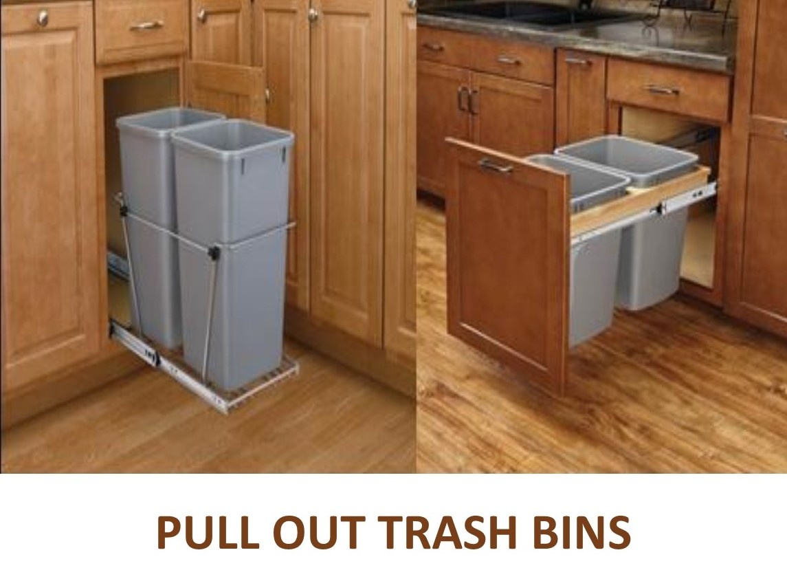 Pull Out Trash Cans And Bins