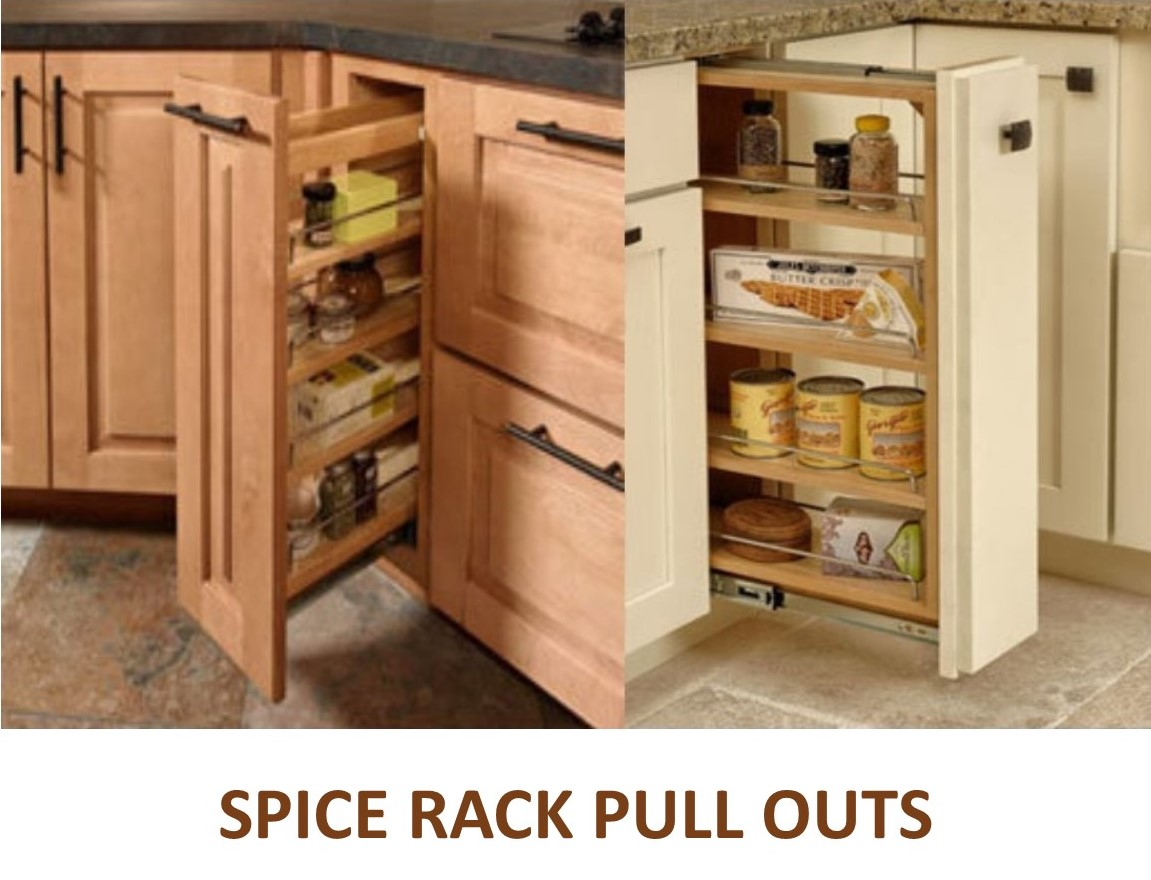 Spice Rack Pull Outs