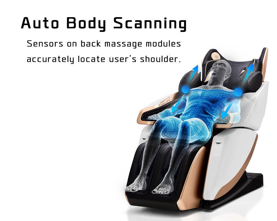 Body Scanning Massage Chair
