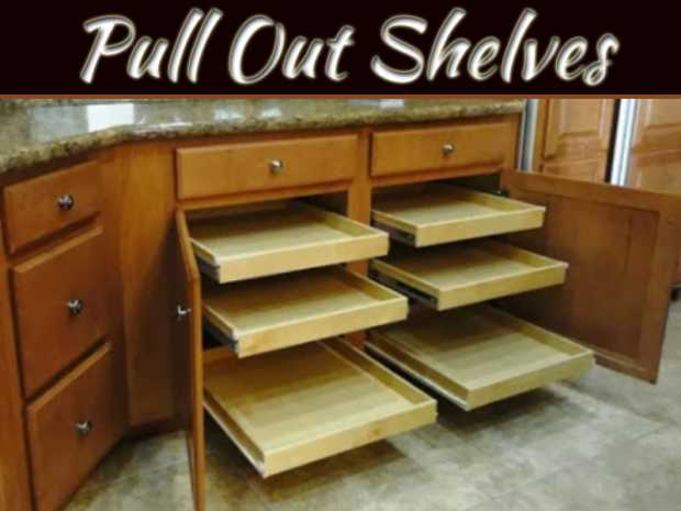 How Pull Out Shelves Save Space In The Kitchen