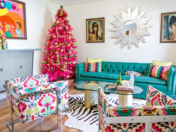 Living Room Colour Palette
