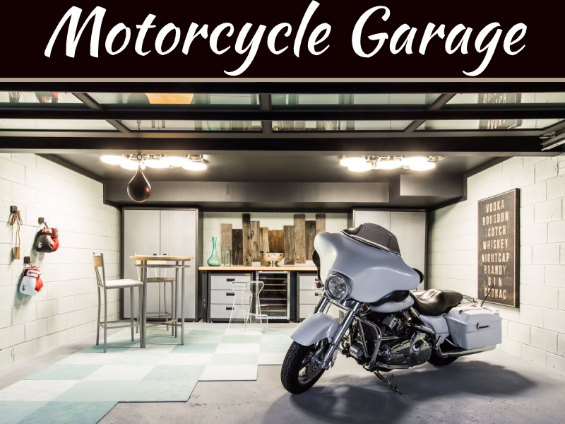 Motorcycle Garage Storage Ideas