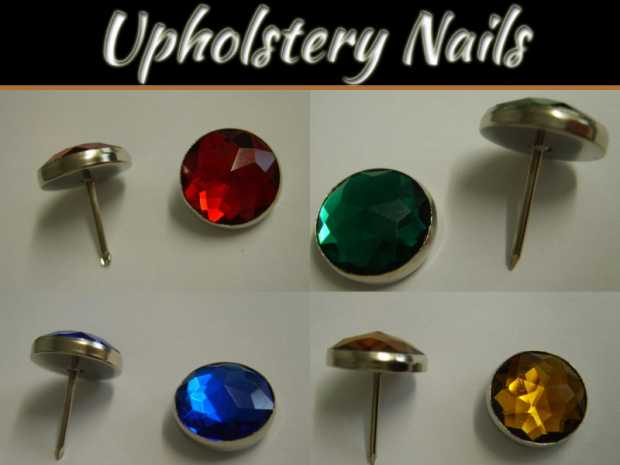 Nails For Your Next Upholstery Project
