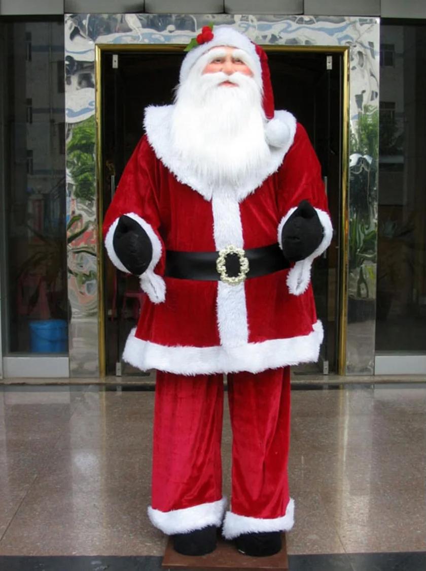 Santa Forgot To Wipe His Feet