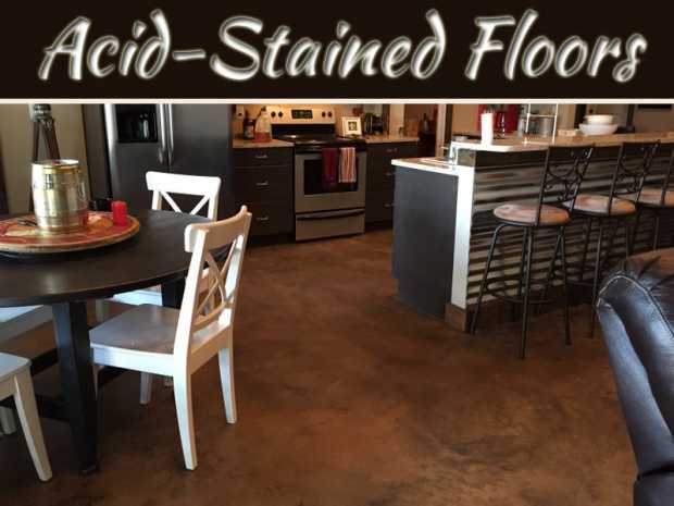 7 Reasons Why Acid-Stained Floors Are So Popular For Homes