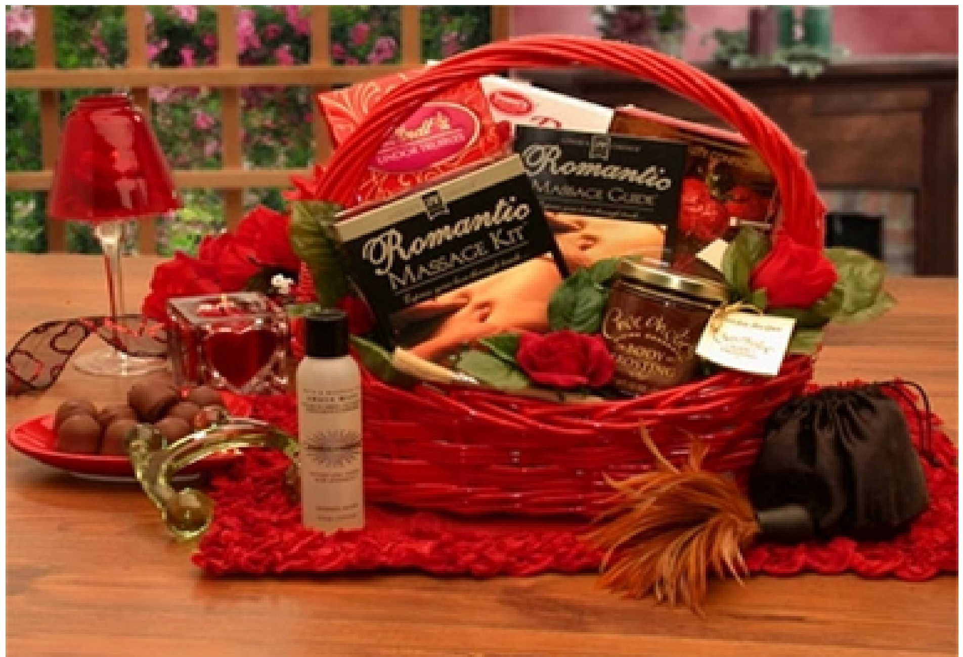A Romantic Gift Basket