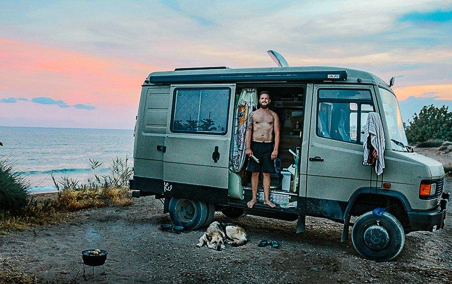 Mercedes Benz Camper Van