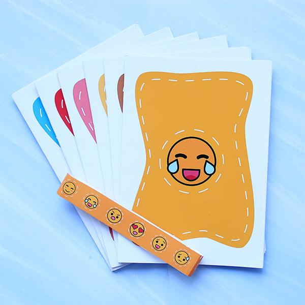 Cute Emoji Cards