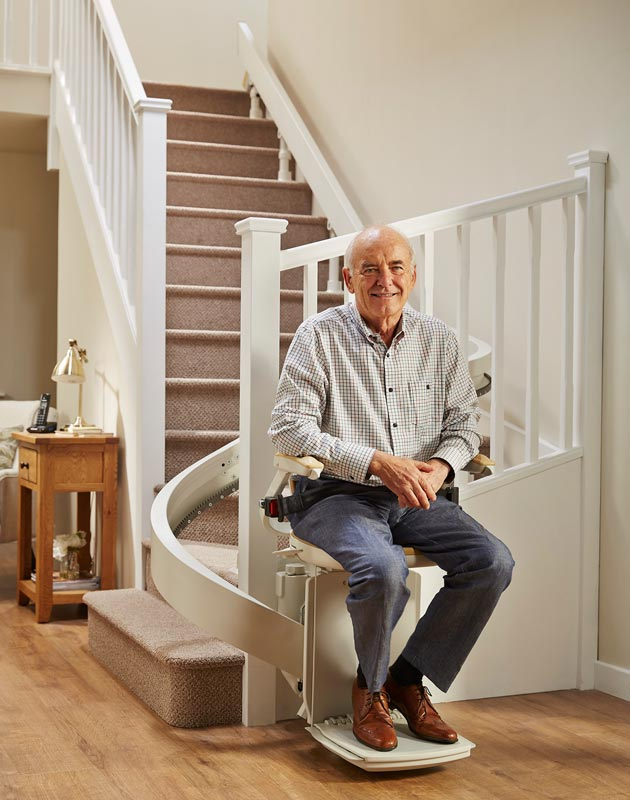 Independence Stairlift Use