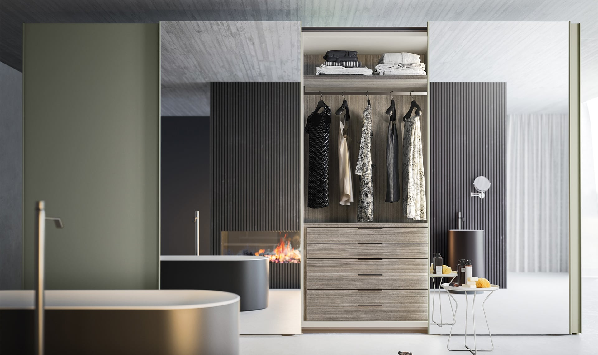 Modern Fitted Wardrobe
