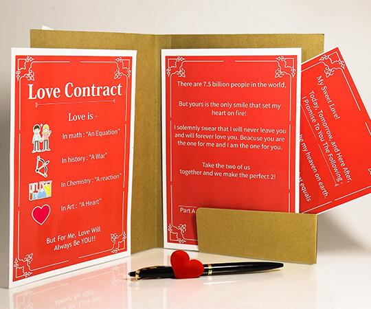 Romantic Love Contract