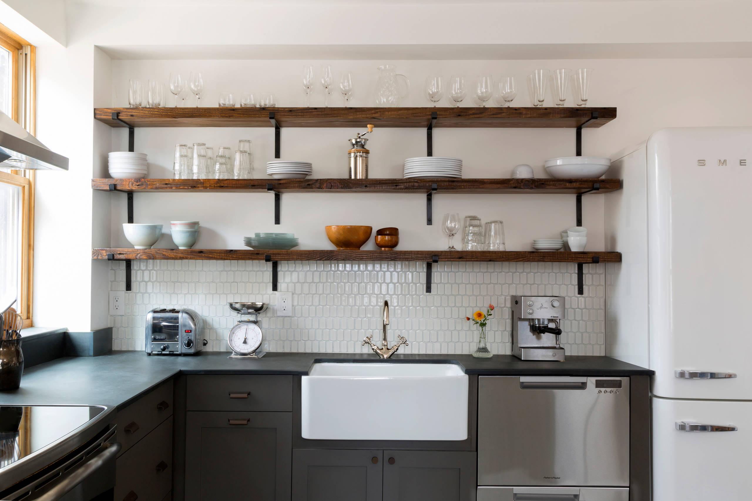 Shelves Under Your Countertop