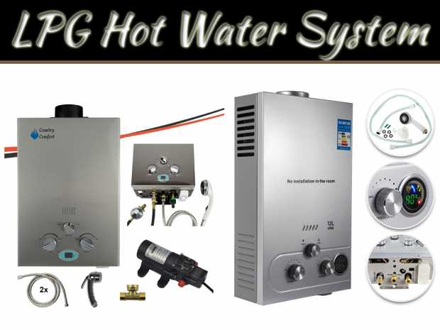 6 Benefits Of LPG Hot Water System