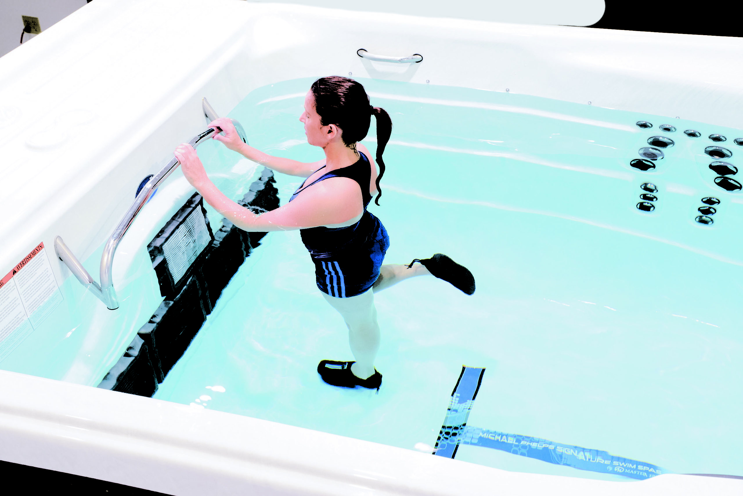 Hot Tub Stretching Exercise