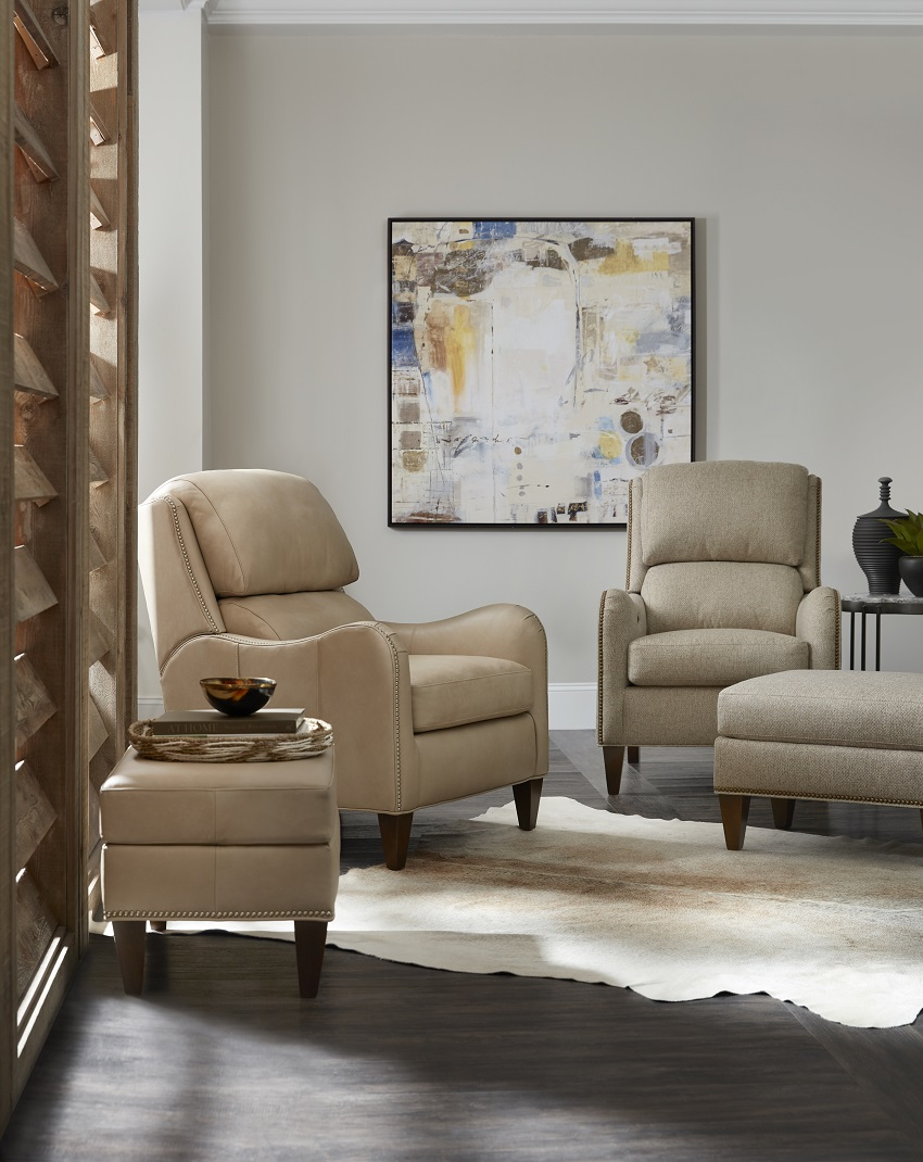 Leather Tilt Back Chairs