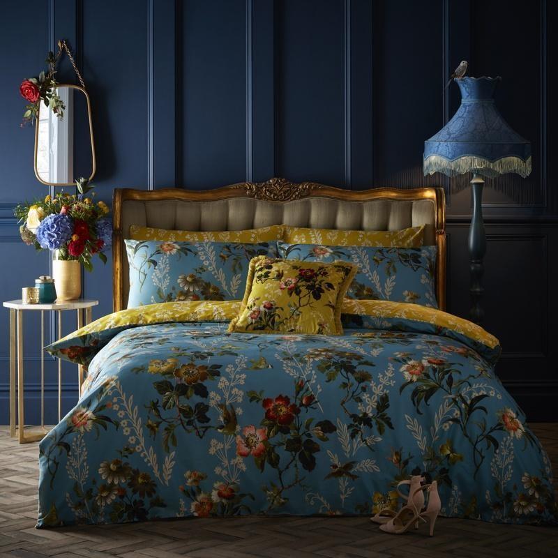 Ocean Colours Inspired Bedroom Decor