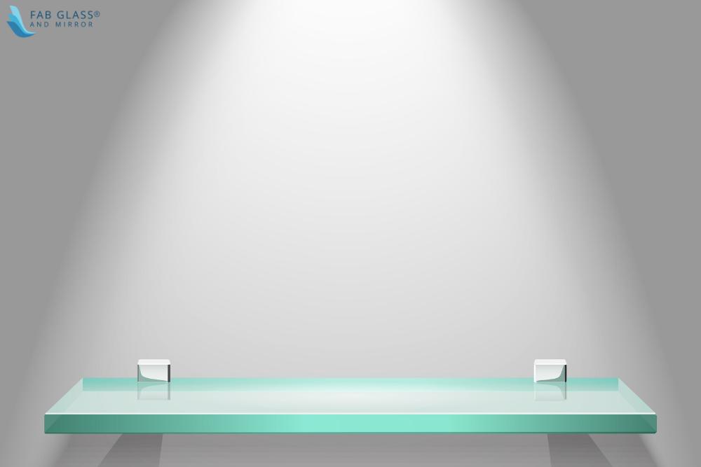 Rectangle Glass Shelves