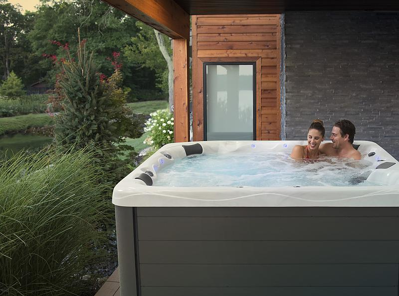 Backyard Hot Tub Spa