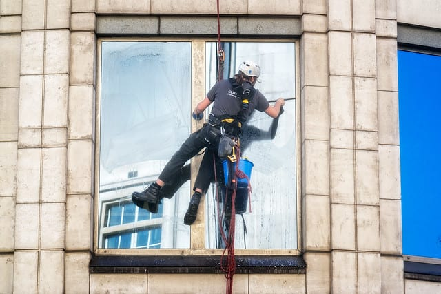 Commercial Building's Windows
