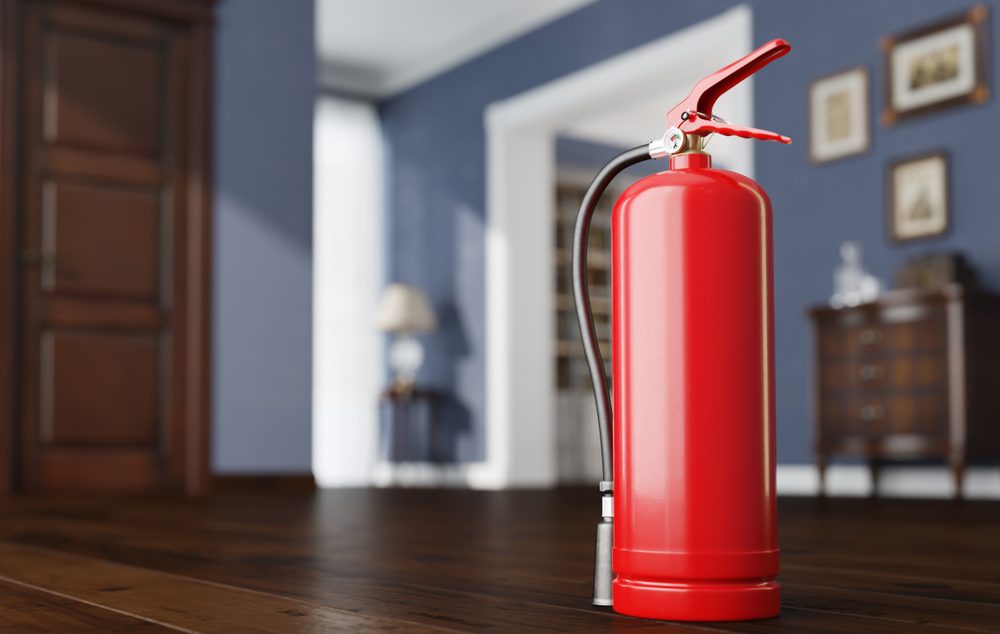 Fire Extinguisher In The House