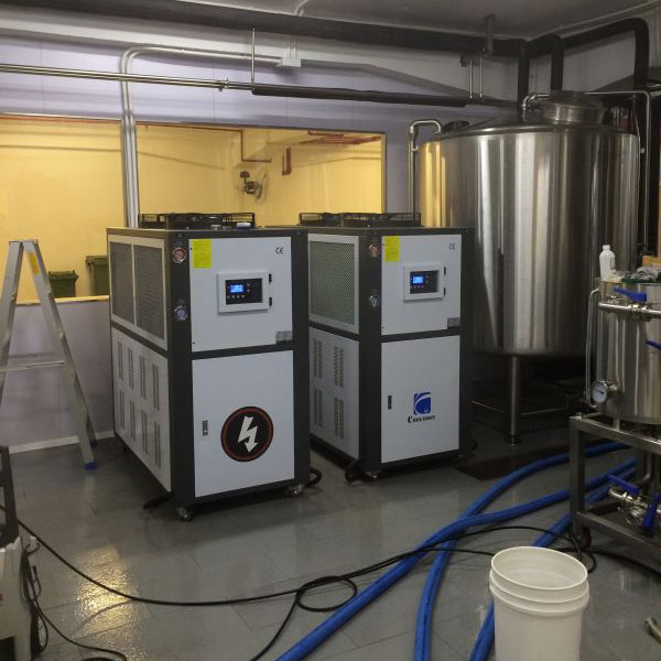 Glycol Chiller Cooling In Brewing