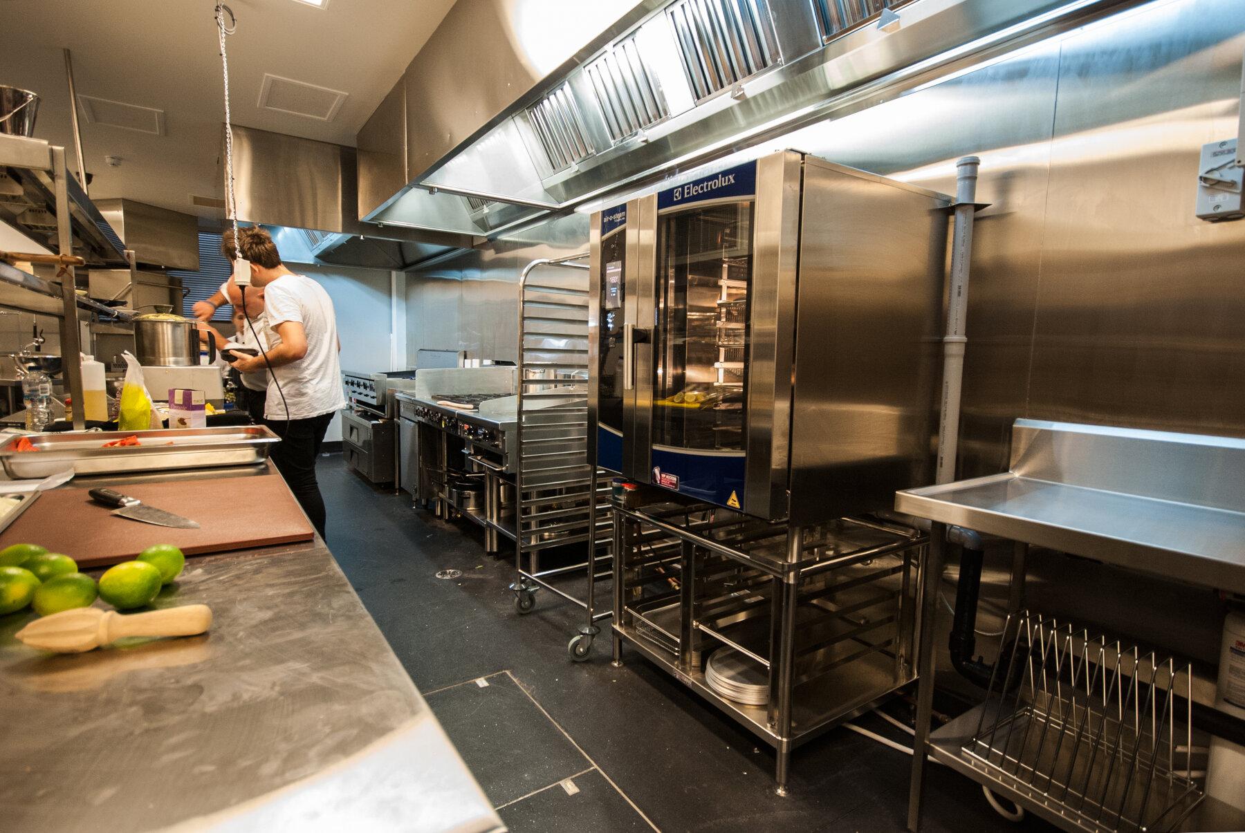 Huge Commercial Kitchen
