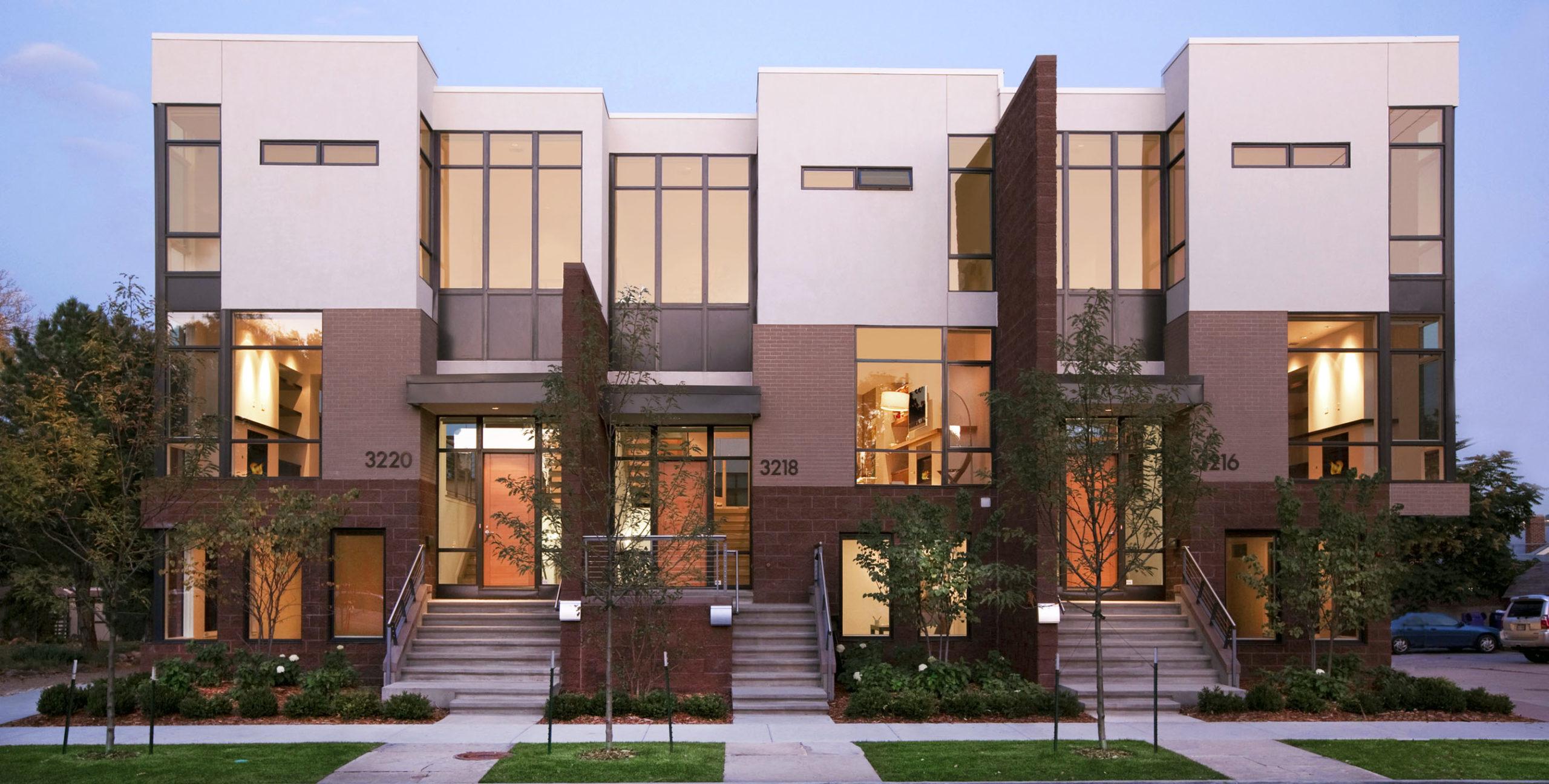 Modern Style Townhouse