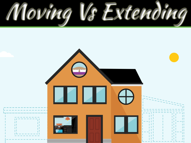 Moving To a New Home Vs. Extending