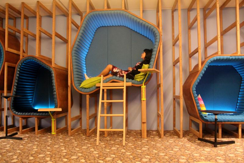 Nap Zone Cubicles