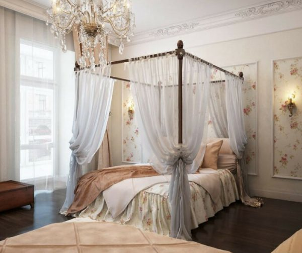 Vintage Bedroom Flooring