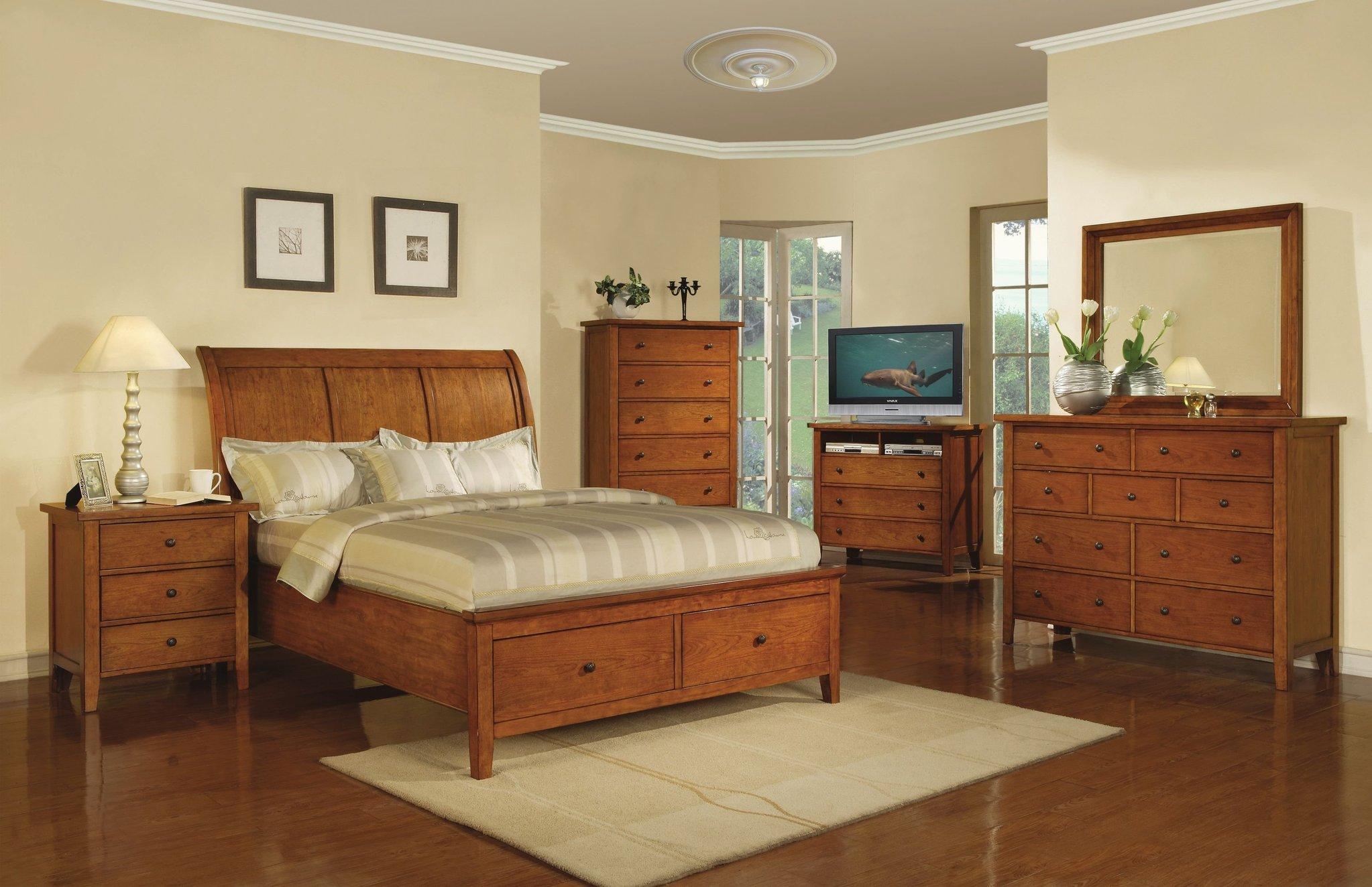 Vintage Bedroom Storage