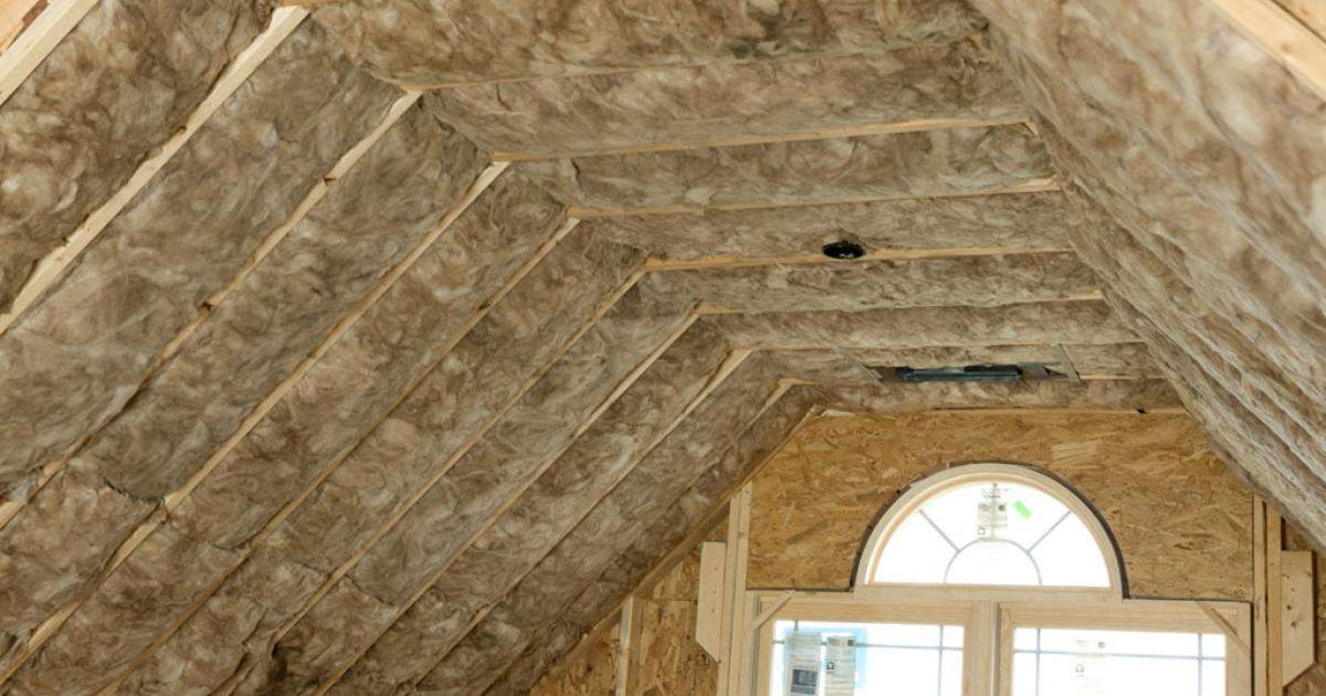 Above Spec Ceiling Insulation