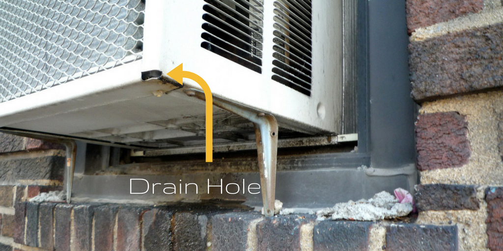 Cleaning Of The Drainage Hole