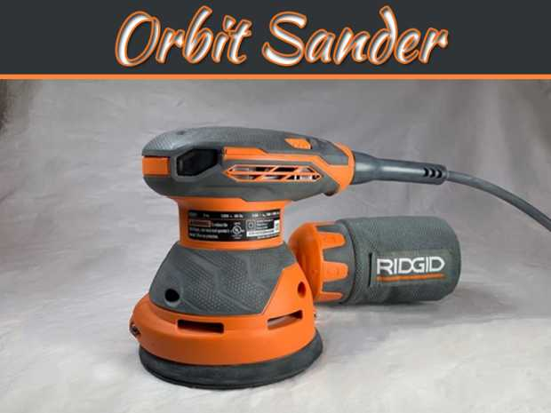 "Complete Information On Ridgid r2601 5"" Orbit Sander"
