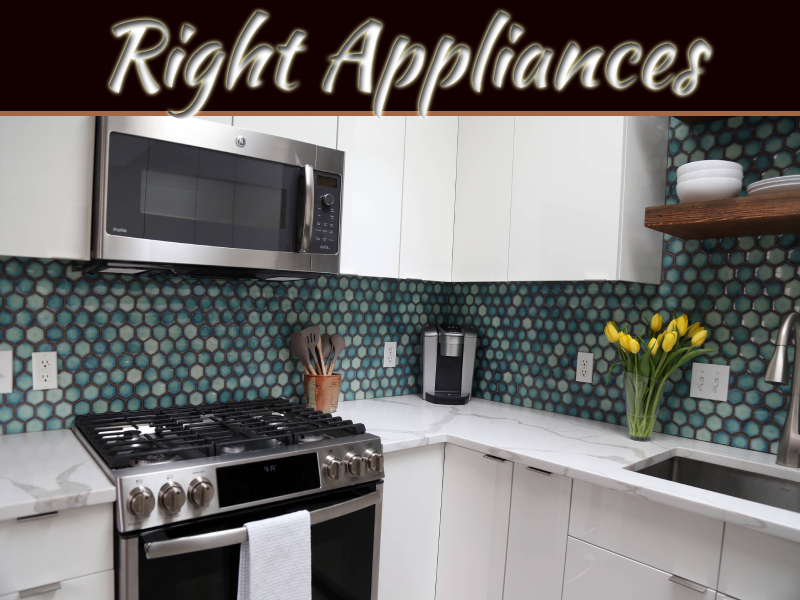 How Choosing The Right Appliances Can Improve The Look Of Your Home