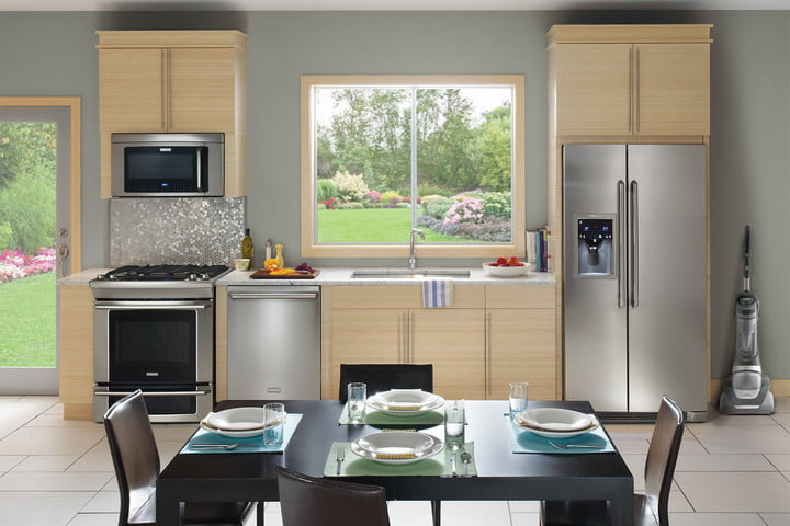 Kitchen Interior Matching Appliances