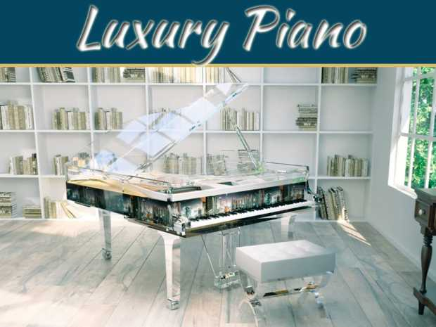Luxury Pianos You Wish You Could Buy