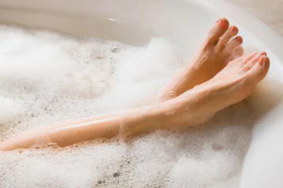 Soaking In A Bubble Bath