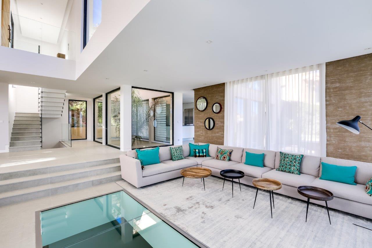 Villa Interior Design Amabelisna Salon