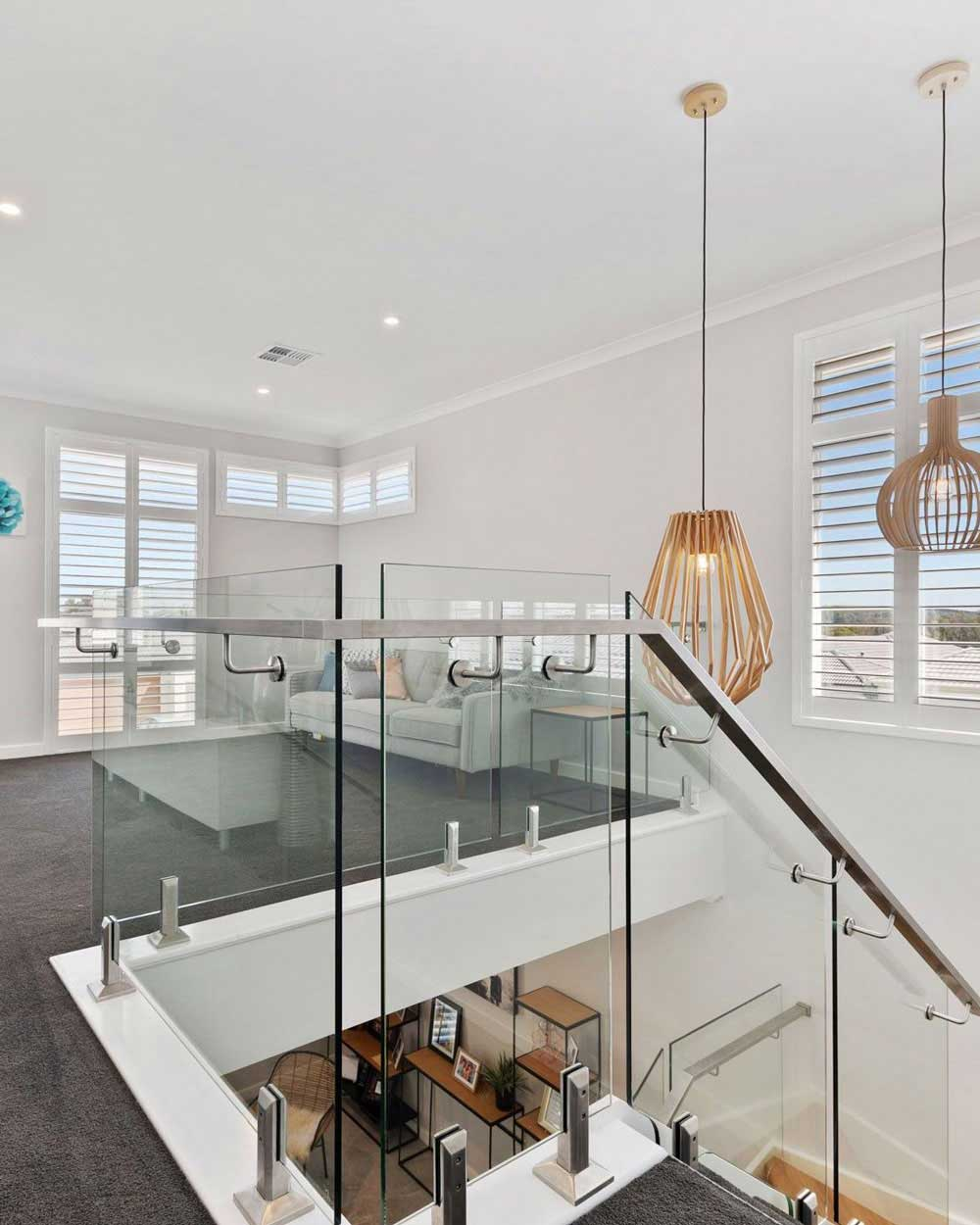 White Plantation Shutters In Rumpus Room On The Gold Coast