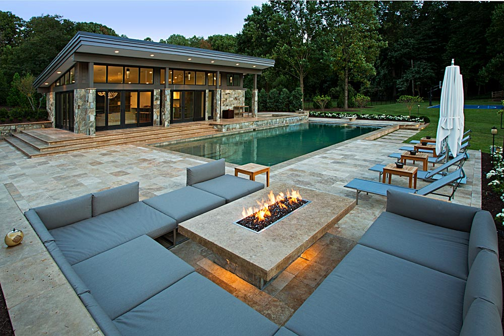 Cover Swimming Pools And Fire Pits