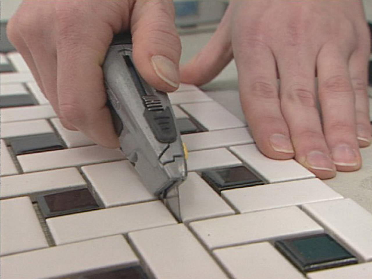 Cutting The Mosaic Sheets