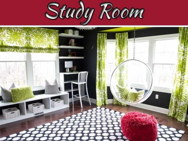 How To Make Your Study Room Comfortable And Entertaining