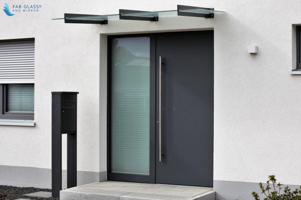 Commercial Building Security Glass Door