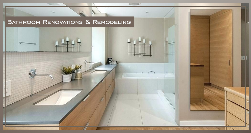 Renovate Or Remodel Your Bathroom