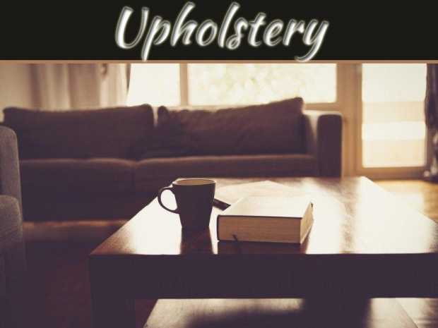 The Environmental Benefits Of Upholstery